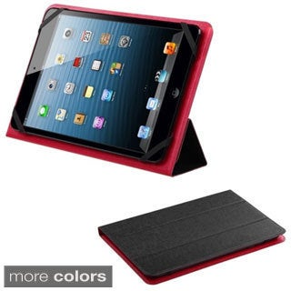 INSTEN 7-8 inch Stand Universal Leather Tablet Case Cover for iPad mini/ Galaxy Tab 3