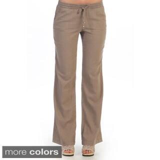 Hadari Women's Casual Elastic-waist Pants