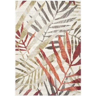 Safavieh Porcello Ivory/ Green Rug (8' x 11'2)