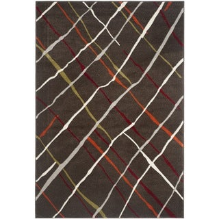Safavieh Porcello Brown/ Multi Rug (8' x 11'2)