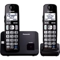 Panasonic KX-TGE212B DECT 6.0 1.90 GHz Cordless Phone - Black
