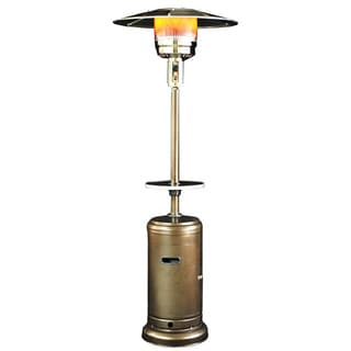 Sunheat Classic Umbrella Golden Hammered Portable Propane Patio Heater