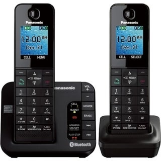 Panasonic KX-TGH262B DECT 6.0 1.90 GHz Cordless Phone - Black