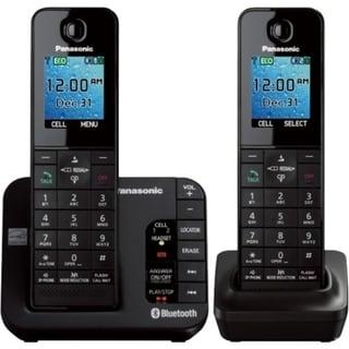 Panasonic KX-TGH262B DECT 6.0 1.90 GHz Cordless Phone - Black