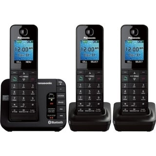 Panasonic Link2Cell KX-TGH263B DECT 6.0 Cordless Phone