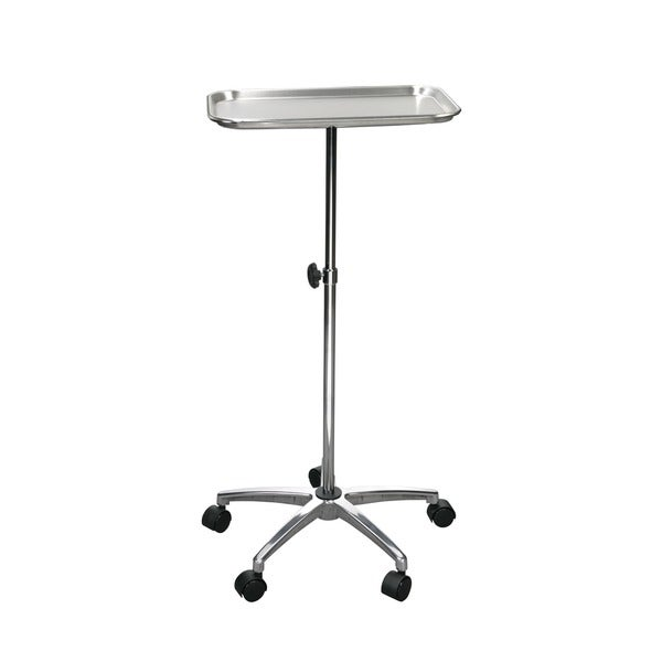 Mayo Instrument Stand with Mobile 5-inch Caster Base