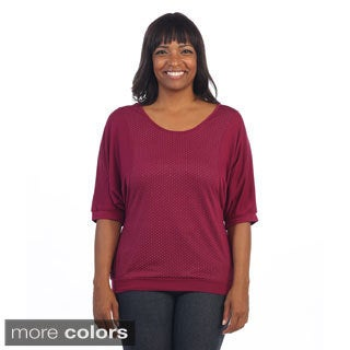 Hadari Women's Plus Dolman Top