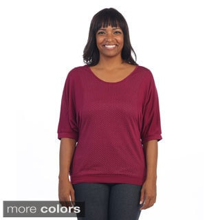 Hardari Women's Plus Dolman Top