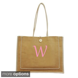 Personalized Natural Newport Tote