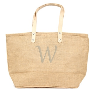 Personalized Natural Nantucket Tote