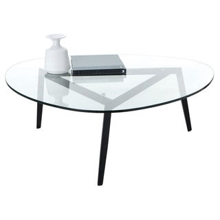 Sunpan Garvin Tempered Glass-top Coffee Table