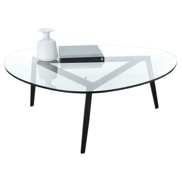 Sunpan Garvin Tempered Glass-top Coffee Table