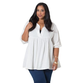 Sealed With a Kiss Women's Plus 'Emmylou' Miami Tunic