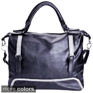 Women's Elegant Rhinestone Tote Handbag