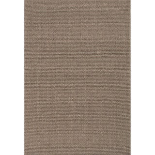 Handmade Abstract Pattern Grey/ Natural Sisal Area Rug (3' x 5')