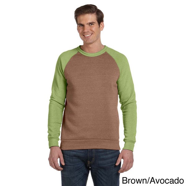 Alternative Men's 'Champ' Colorblocked Fleece Long Sleeve Tee 13314157
