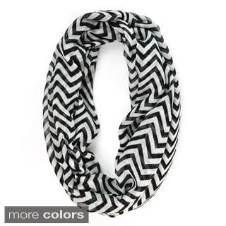 Women's Chevron Pattern Scarf