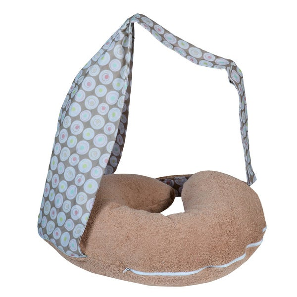 Tineo Discretionary Nursing Pillow in Hazelnut Brown