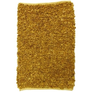 Celebration Jute and Leather Natural Hand Woven Rug (3' x 5')