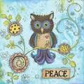 Lisa Keys 'Peace Owl' Paper print poster