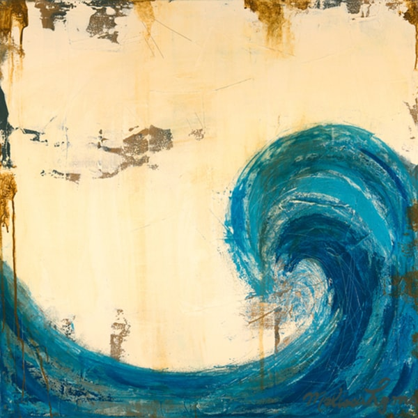Melissa Lyons 'Catch the Wave' Paper print poster