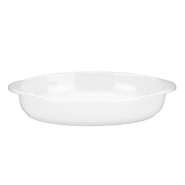 Mario Batali by Dansk White Large Oval Au Gratin Dish