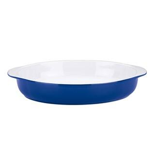 Mario Batali by Dansk Cobalt Large Oval Au Gratin Dish