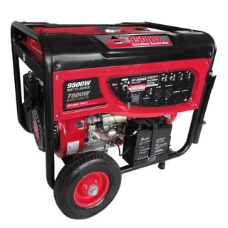 Smarter Tools 9500-watt Portable Generator with Electric Start and Battery