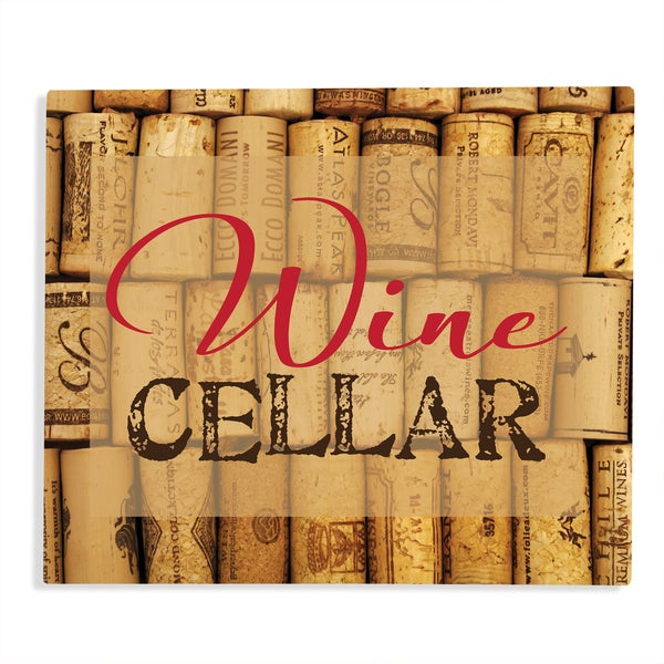 Wine Cellar Aluminum Bar Sign