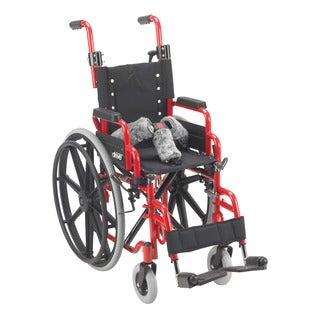 Wallaby Powder-coated Steel Pediatric Folding Wheelchair