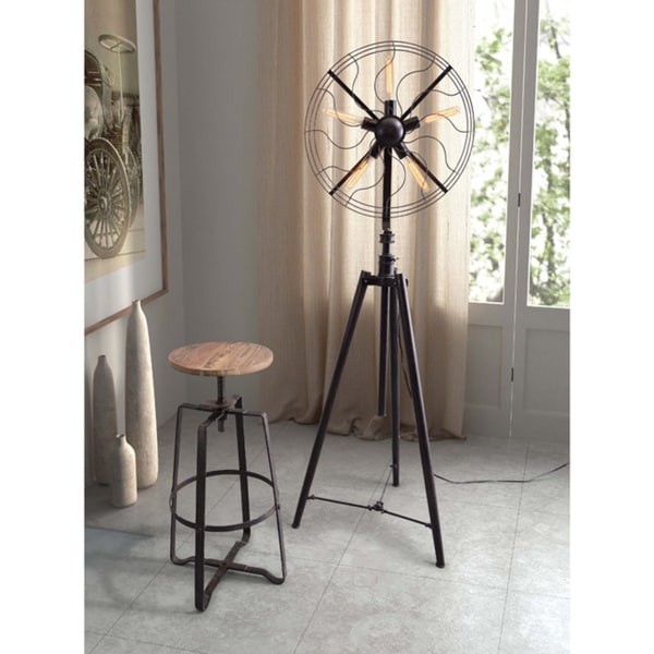 Wilde Distressed Natural Barstool