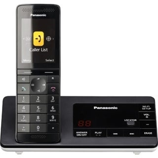 Panasonic KX-PRW130W DECT 6.0 1.90 GHz Cordless Phone - White