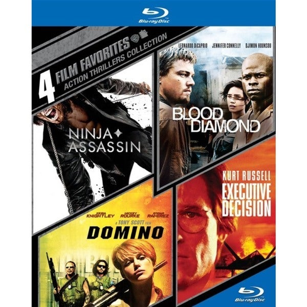 4 Film Favorites: Action Thrillers (Blu-ray Disc) 13315356