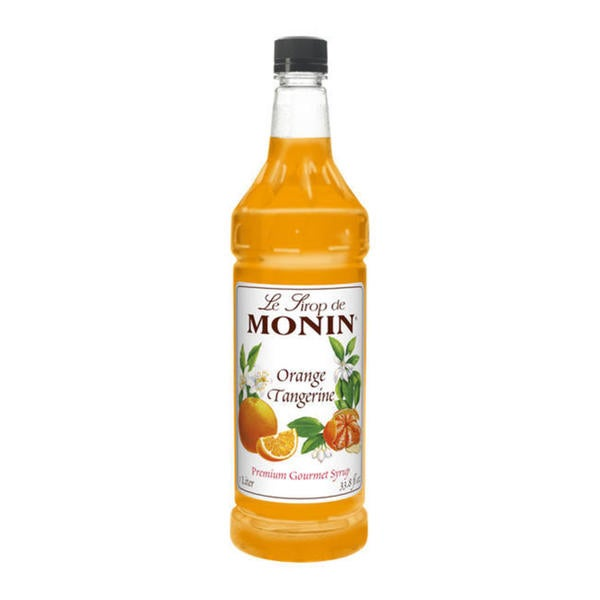 Monin Orange Tangerine Syrup (Case of 4)