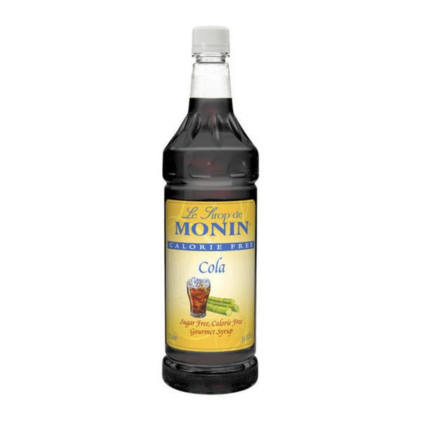 Monin Calorie-free Cola Syrup (Case of 4)