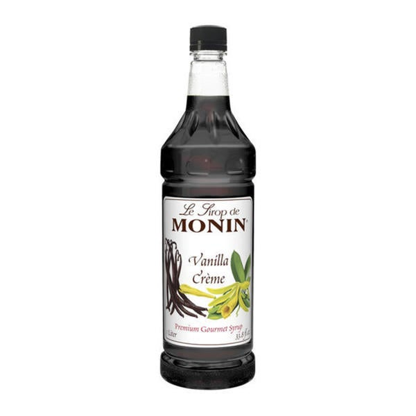 Monin Vanilla Creme Syrup (Case of 4)