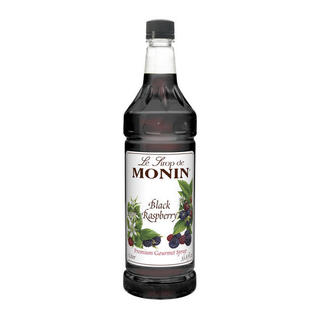 Monin Black Raspberry Syrup (Case of 4)