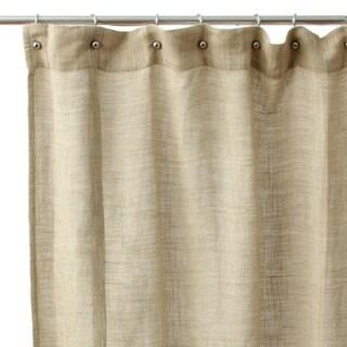 Jack Rustic Cotton Shower Curtain