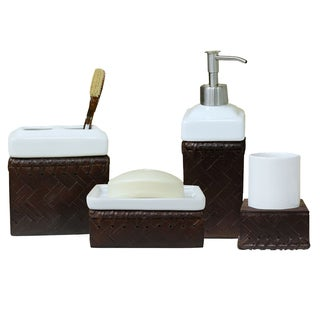 Lamont Home Fiji 4-piece Bath Accessory Set