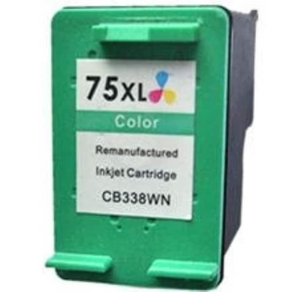 INSTEN Cyan Remanufactured Ink Cartridge for HP Deskjet D4260 D4360