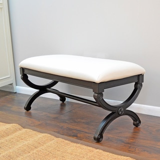 Upholstered Jasmine Natural Duck Bench