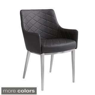 Sunpan Chase Faux Leather Armchair