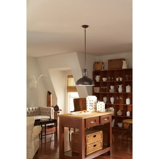Beacon Street 1-light Burnt Sienna Pendant