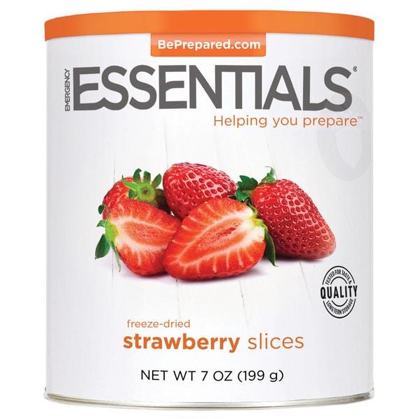 Emergency Essentials Freeze-dried Sliced Strawberries