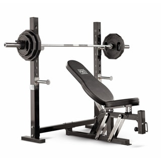 Marcy Pro Power Olympic Deluxe Bench