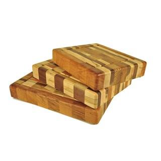 Innovative Wood Check Chopping Block
