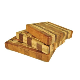 Innovative Wood Check Chopping Block
