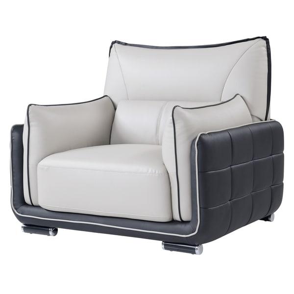 Natalie Grey/ Black Chair