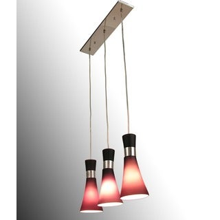 Ariana 3-light Red Ivy Chandelier