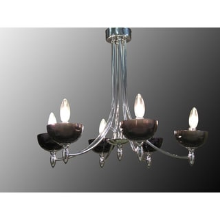 Ariana 6-light Crystal Chandelier